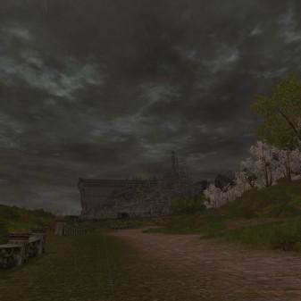 Minas Tirith, afar